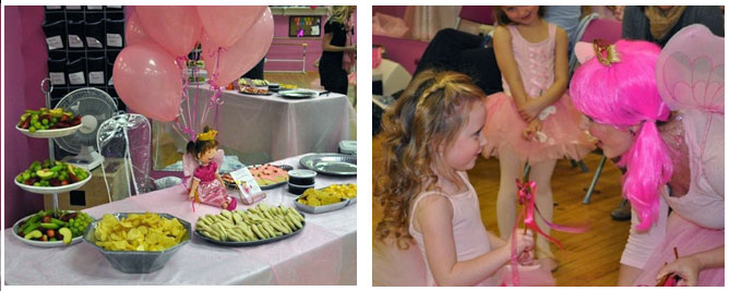 Birthday parties at Centre of Performing Arts in NC